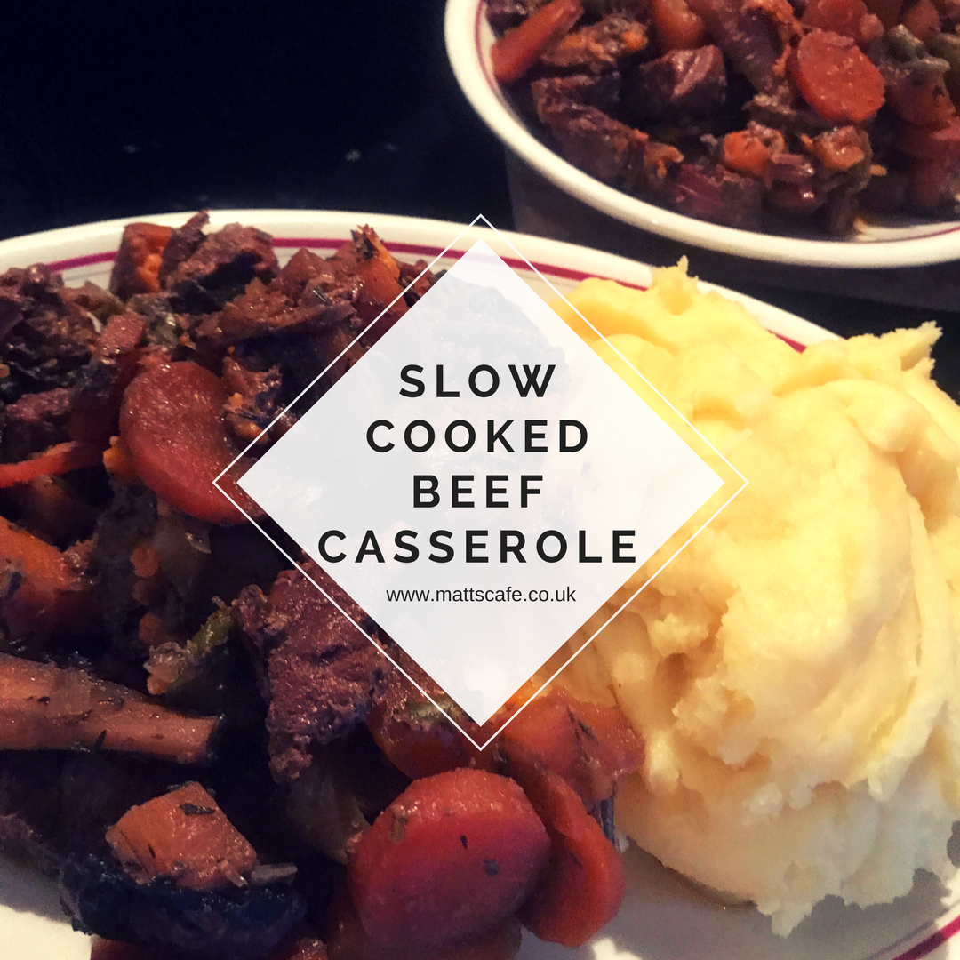 Slow cooked beef casserole - insta