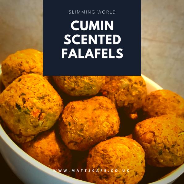 Cumin Scented Falafels