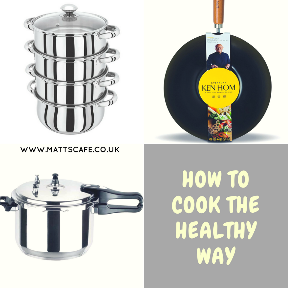How to Cook the Healthy Way
