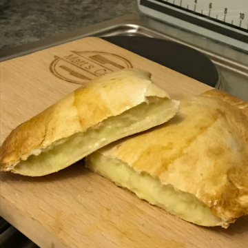 Slimming World Cheese and Onion Pasty - PIN