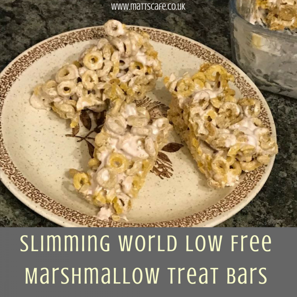 Slimming World Low Syn Marshmallow Treat Bars