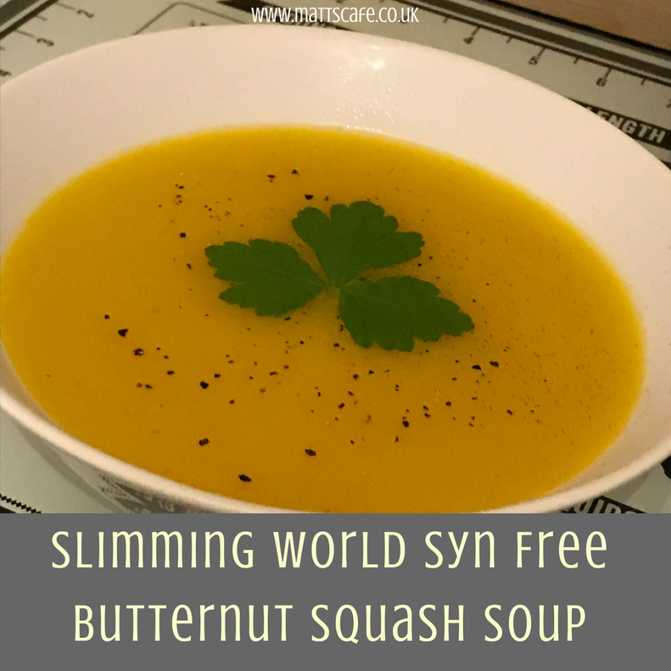 Slimming World Syn Free Butternut Squash Soup