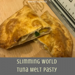 Slimming World Syn Free Tuna Melt Pasty-new