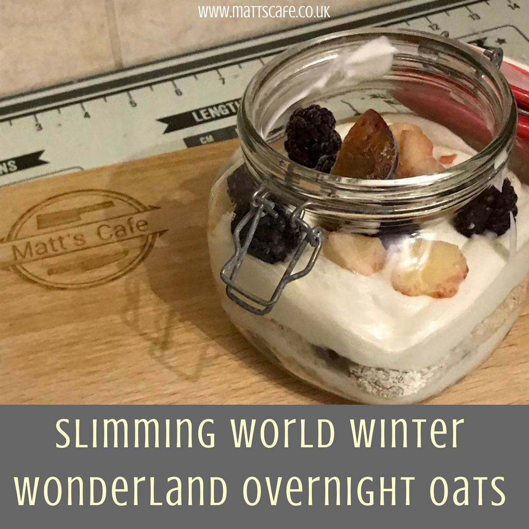 Slimming World Winter Wonderland Overnight Oats
