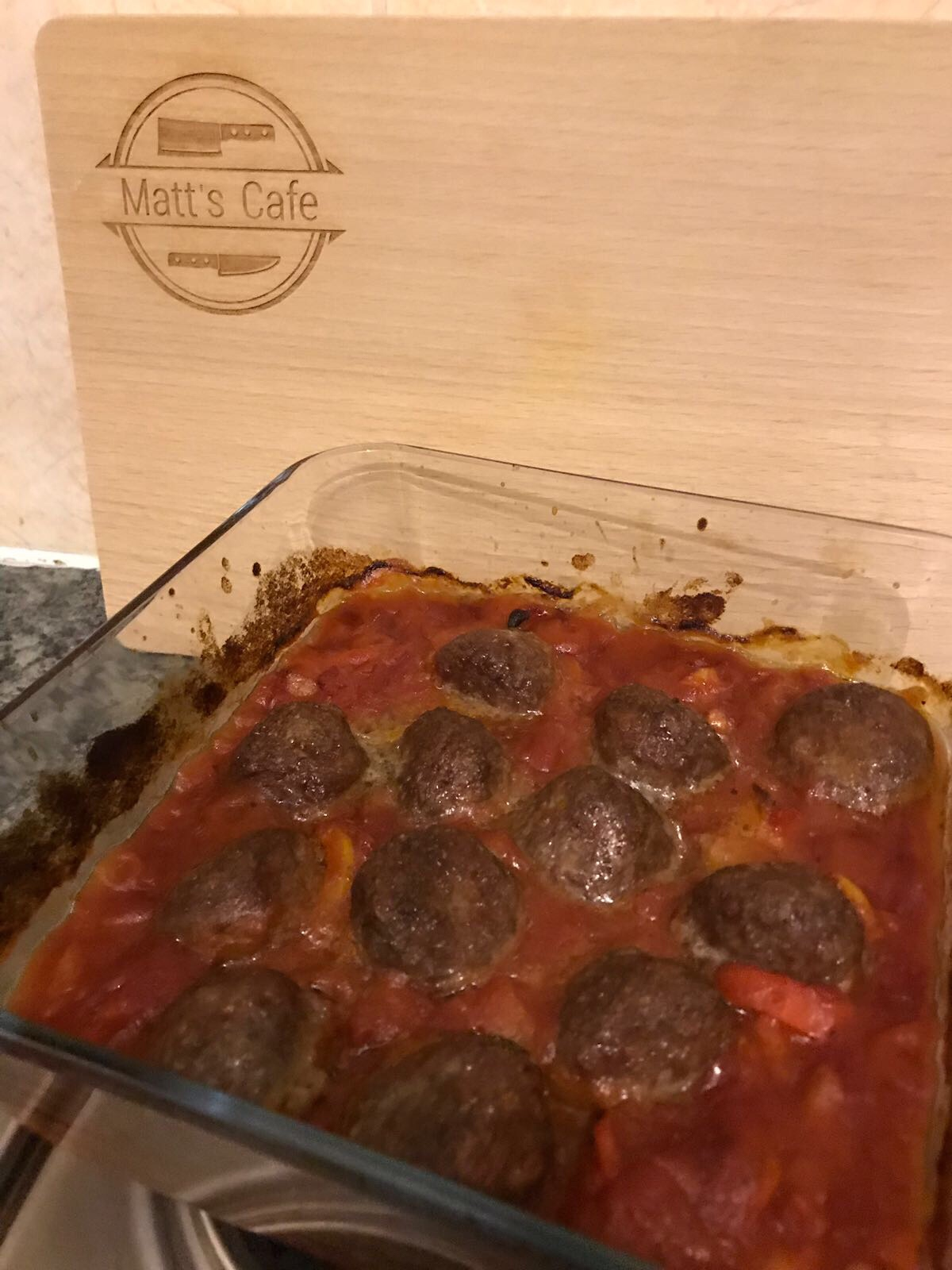 Slimming World Low Syn Baked Meatballs - final