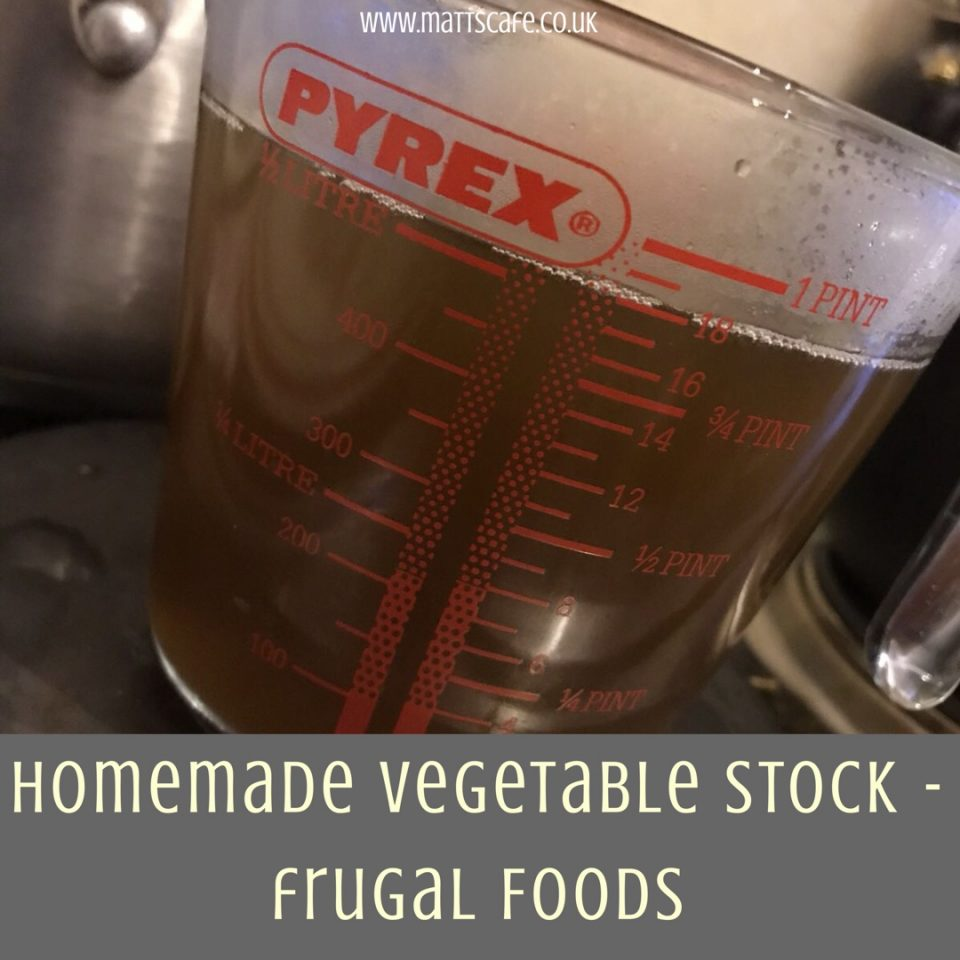 Homemade Vegetable Stock ~ Frugal Foods