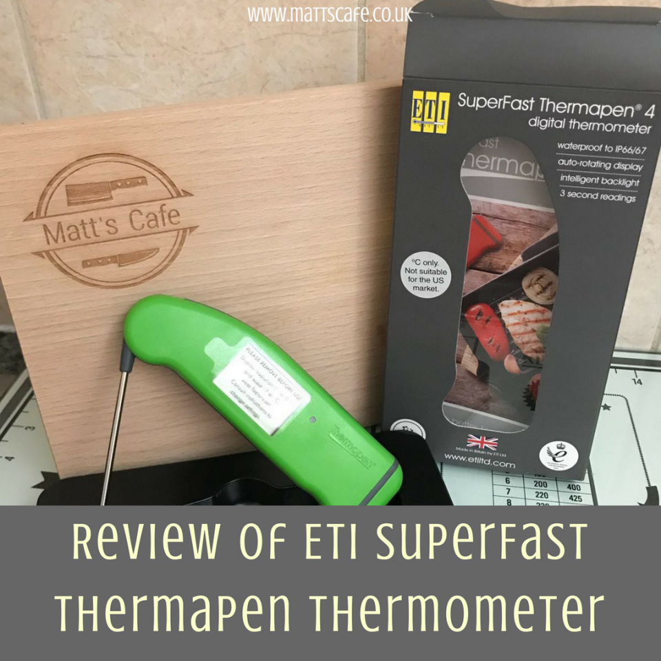 Review of ETI SuperFast Thermapen Thermometer - insta