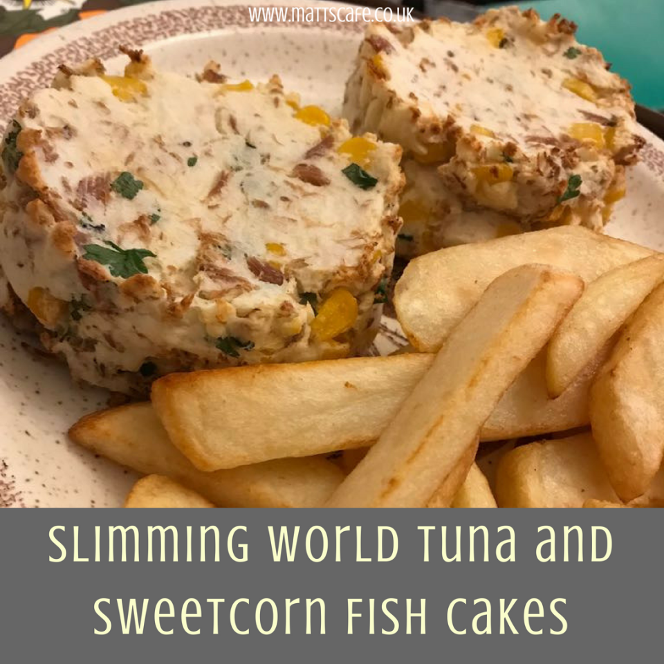 Slimming World Tuna and Sweetcorn Fish Cakes (Syn Free) - insta