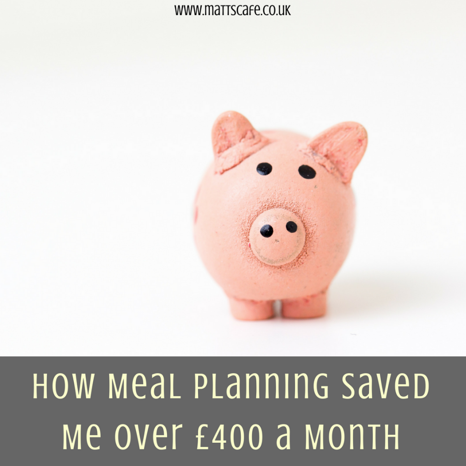 How Meal Planning Saved Me Over £400 a Month