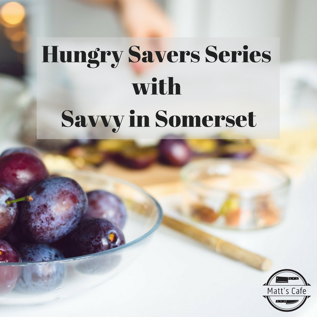 Hungry Savers Series with Savvy in Somerset