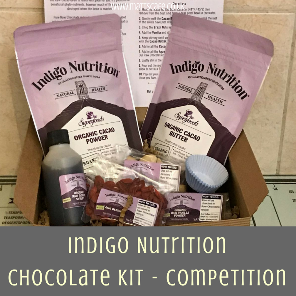 Indigo Nutrition Make Your Own Chocolate Kit - Competition