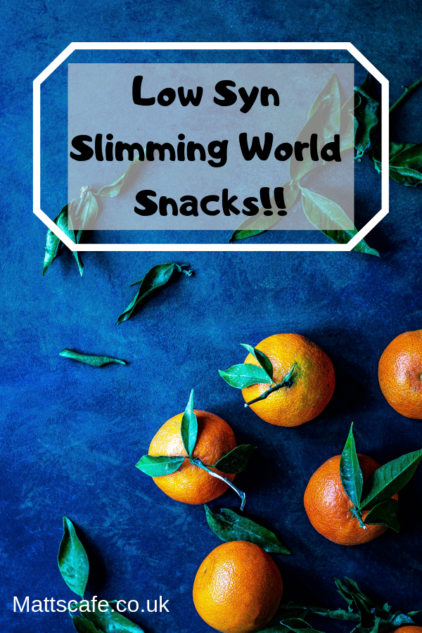 Low Syn Slimming World Snacks