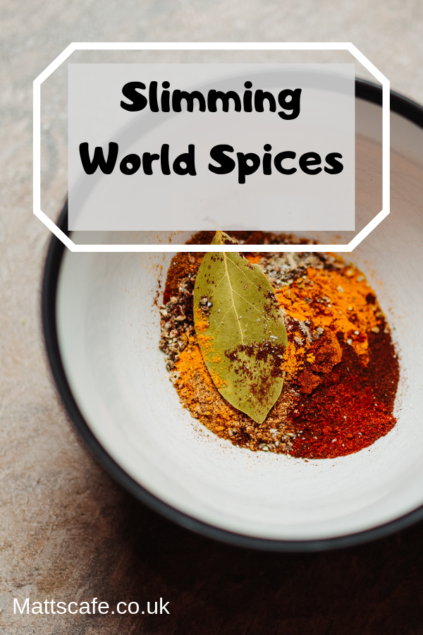 Slimming world spices, slimming world flavours, slimming world recipes, slimming world sweetners