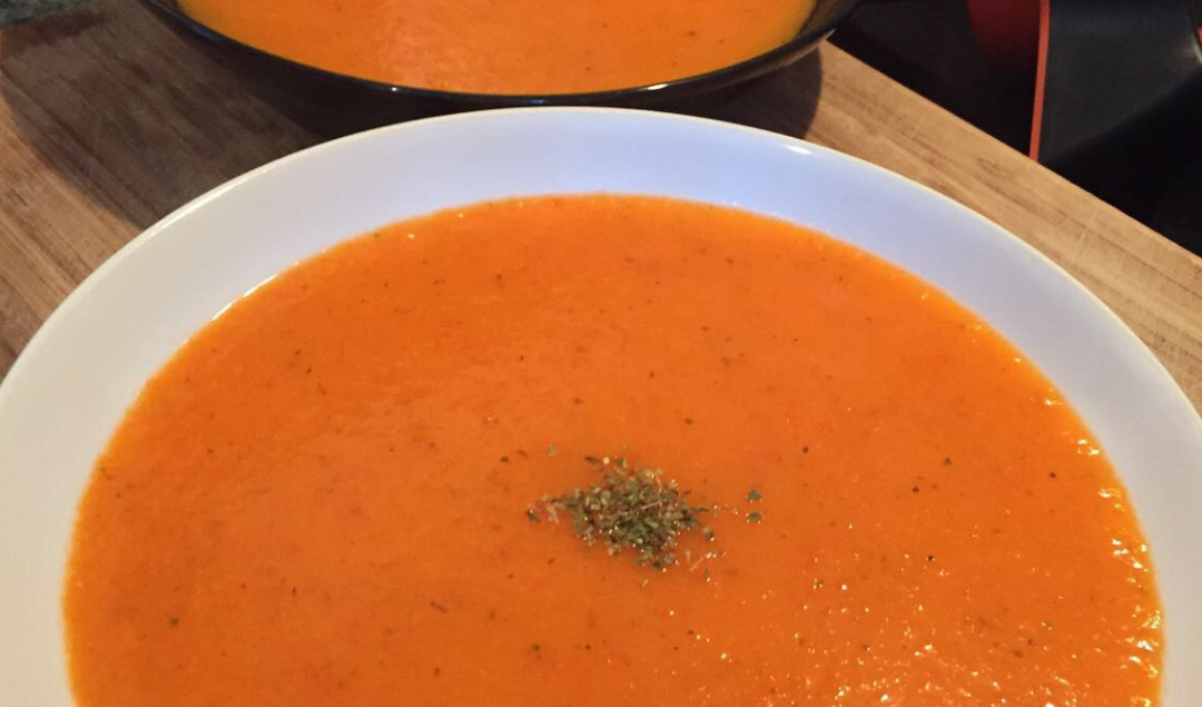 slimming world sweet potato and red pepper soup