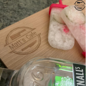 gin and tonic ice lolly with greenall gin and cucmber