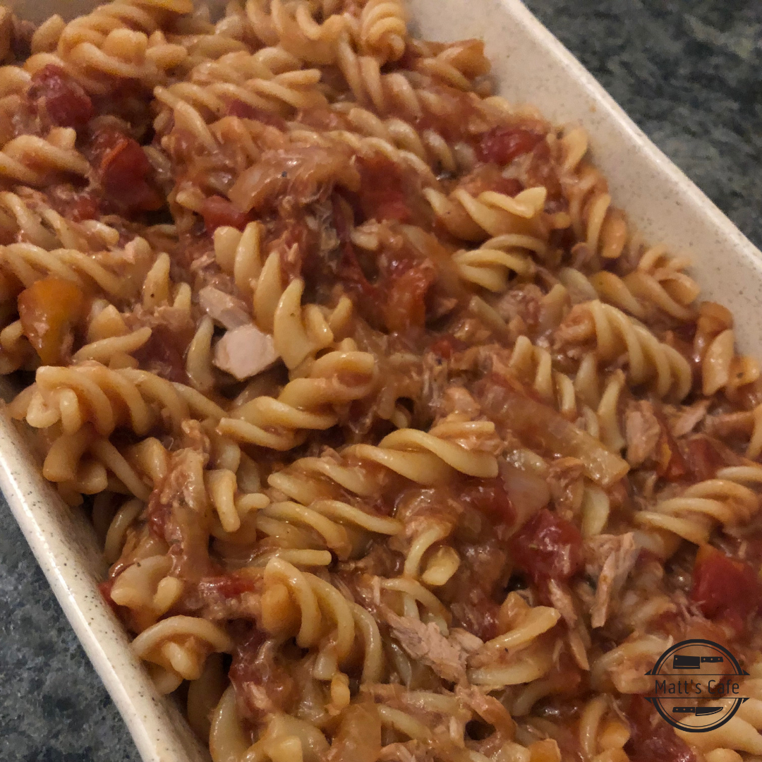 Slimming World tuna pasta bake