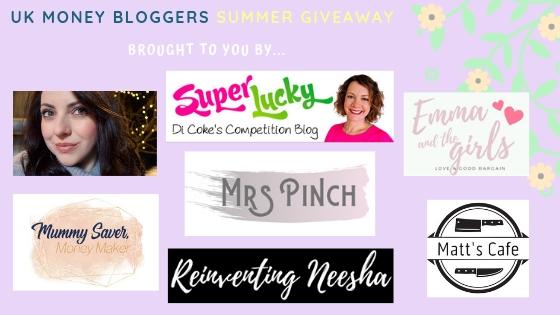 Thrifty Mum, Super Lucky, Di Coke, Emma and the Girls, Mummy Saver Money Maker, Mrs Pinch, Reinventing Neesha, Matt's Cafe