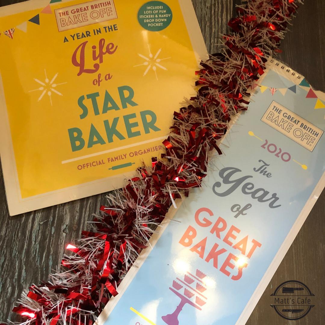 GBBO Star Baker and Great Bake Calendars