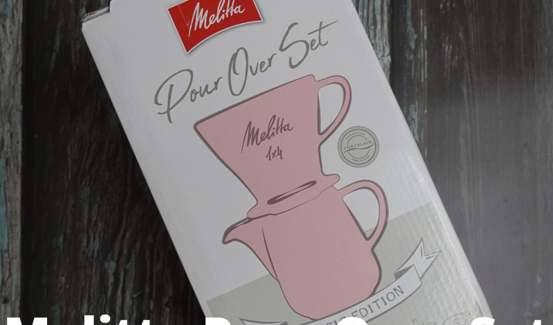 Melitta Porcelain Coffee Filter 1x4 & Porcelain Jug