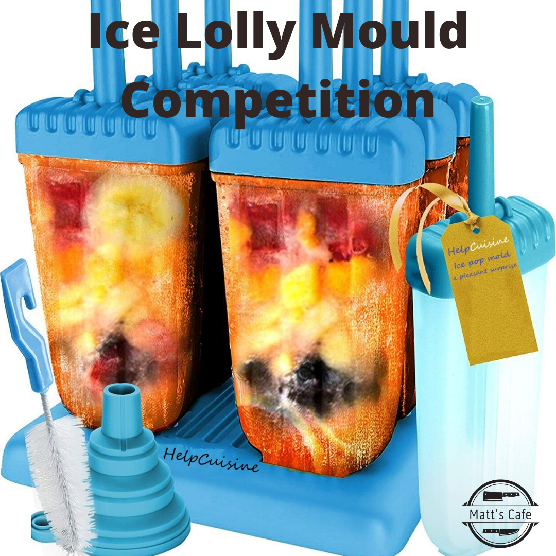 Ice lolly moulds competition