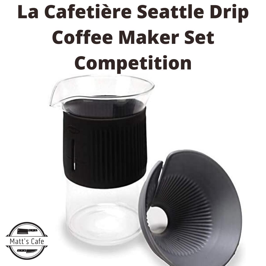 La Cafetière Seattle Drip Coffee Maker Set Competition