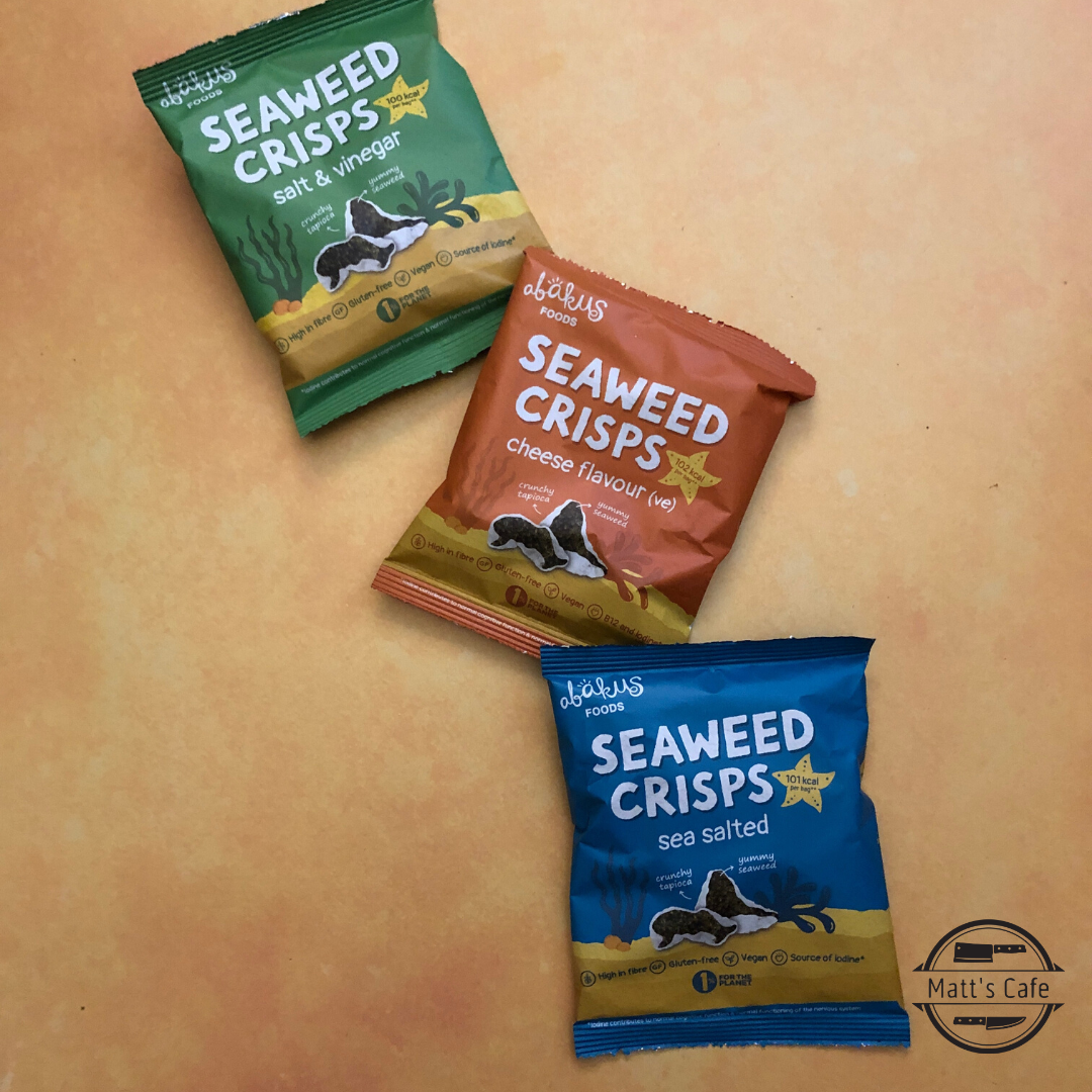 Akbas Seaweed Crisps