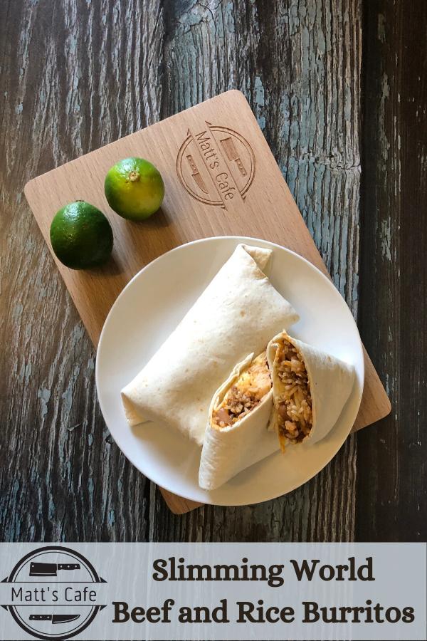 Beef and Rice Burritos Recipe