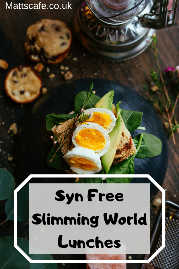 Syn Free Slimming World Lunches