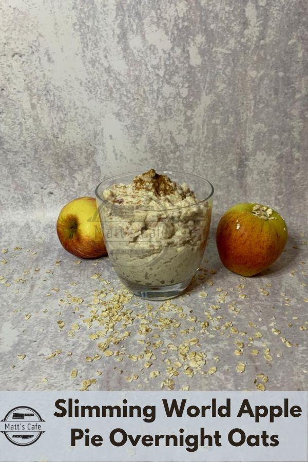 Slimming World Apple Pie Overnight Oats Recipe