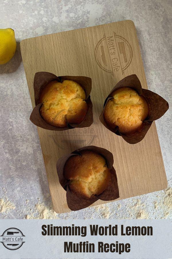 Slimming World Lemon Muffins Recipe