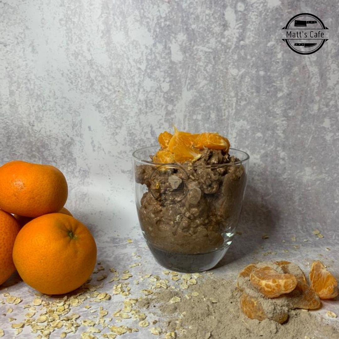 Slimming World Overnight Oats Chocolate and Orange