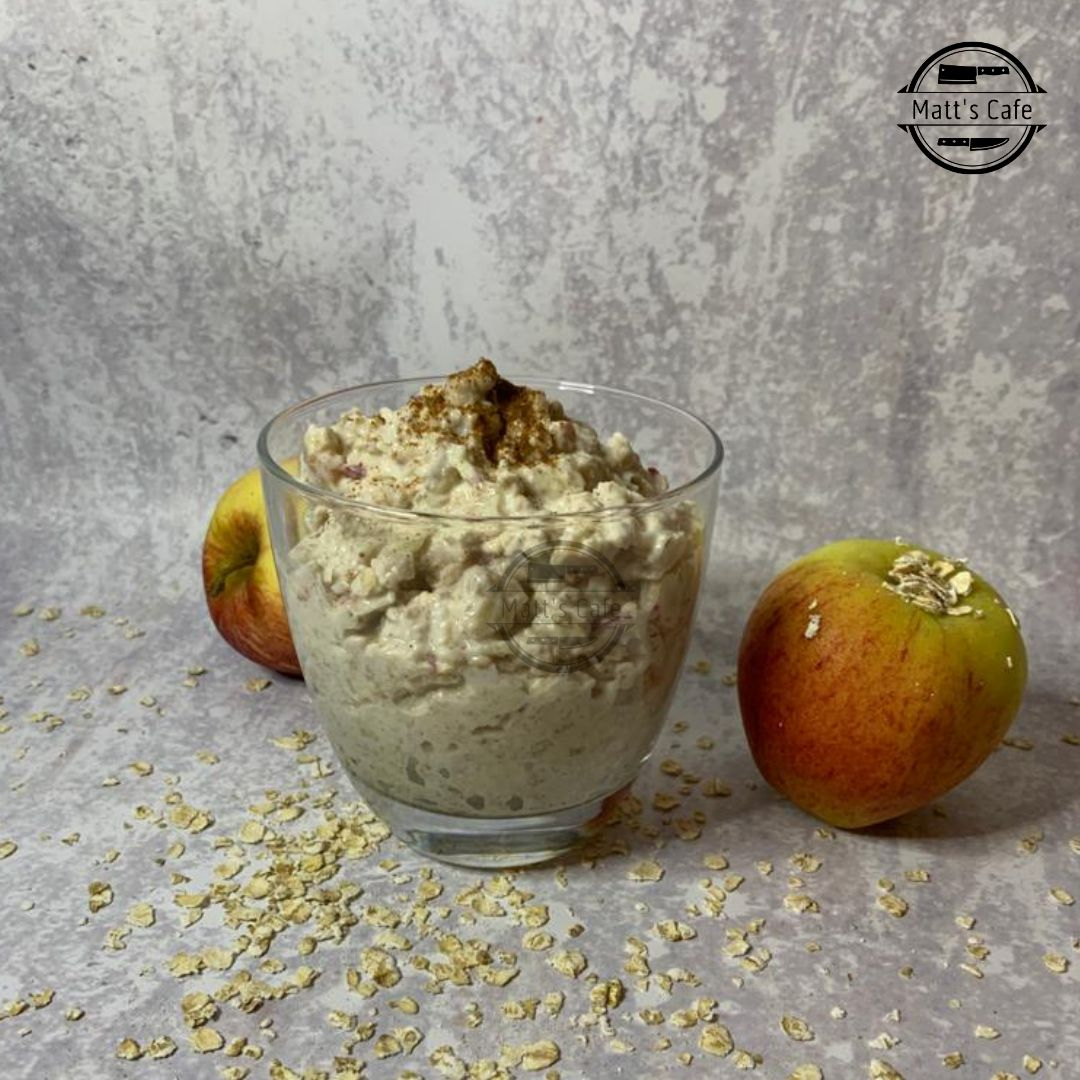 Slimming world overnight oats Apple pie