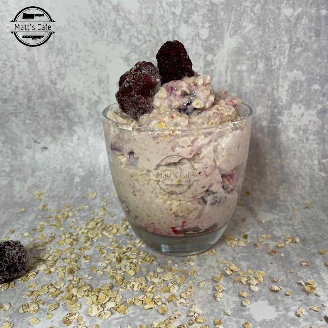 Slimming World Blackcurrant Overnight Oats Recipe