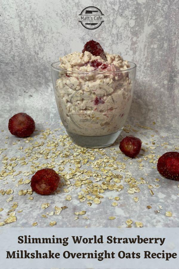 Slimming World Strawberry Overnight Oats Recipe