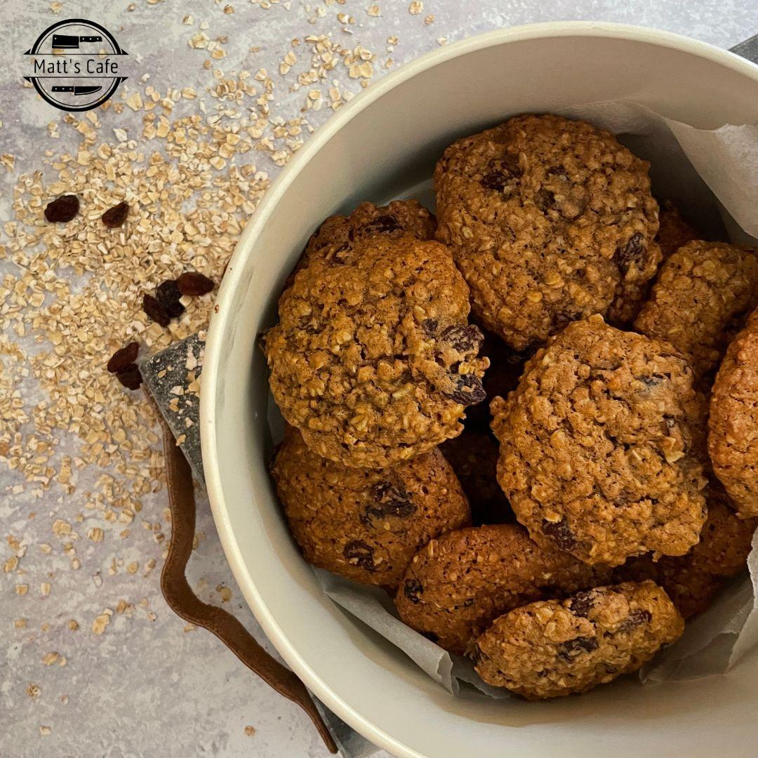 Oatmeal and Raisin Cookie Recipe